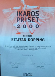 Ikarospriset Staffan Dopping